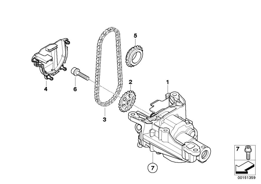 2007 Mini Cooper S Oil Pump  Works  Convertible