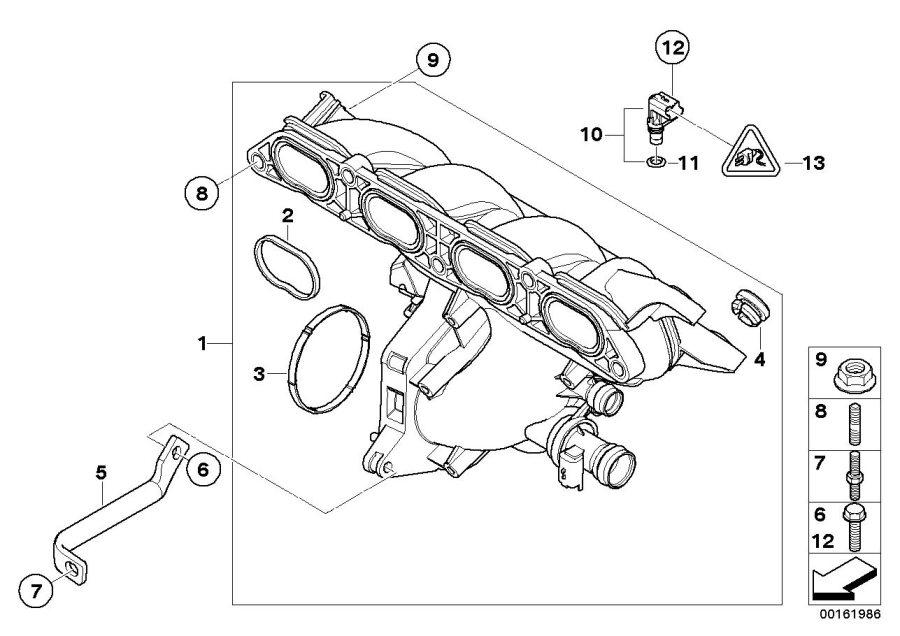 2009 Mini Cooper S Clubman Intake Manifold System  Works