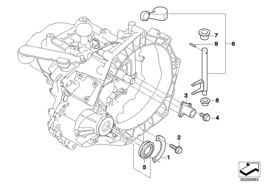 Mini Cooper Clutch Rel Fork Lever  Transmission