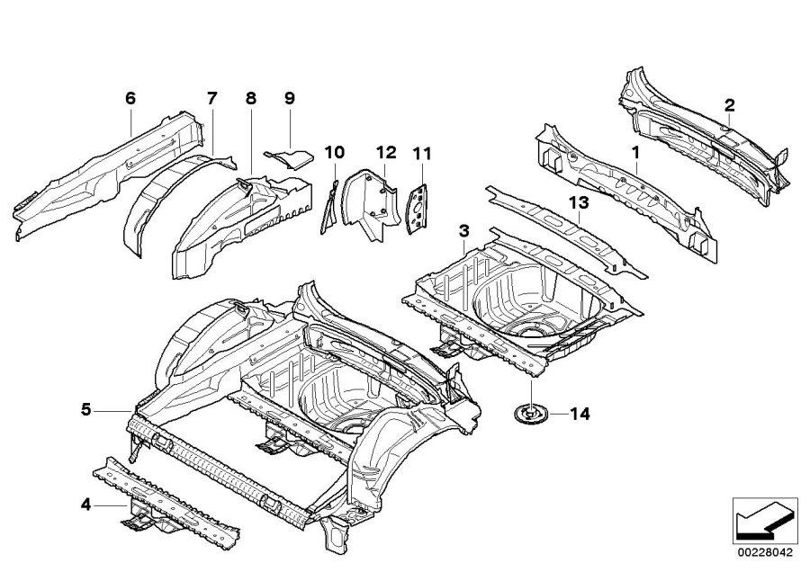 2009 MINI Cooper Clubman Interior tail trim. Works, body ...