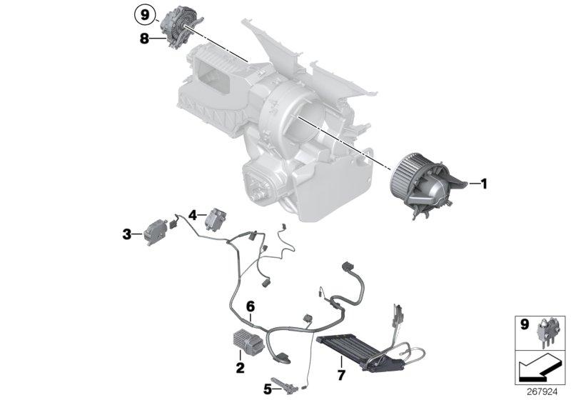 2007 Mini Cooper S Blower Resistor  Works  Convertible