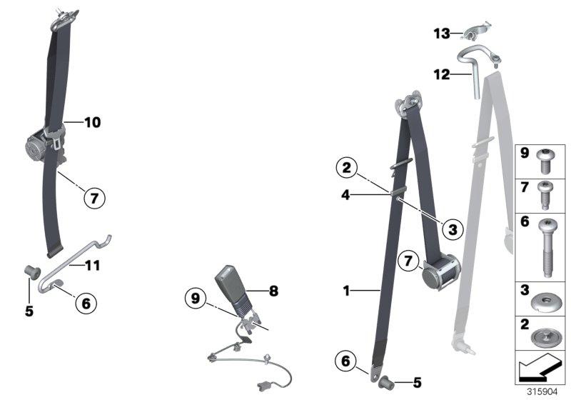 mini cooper r56 belt tensioner