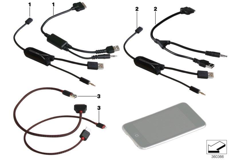 2012 Mini Cooper Music Media Adapter Lightning Works