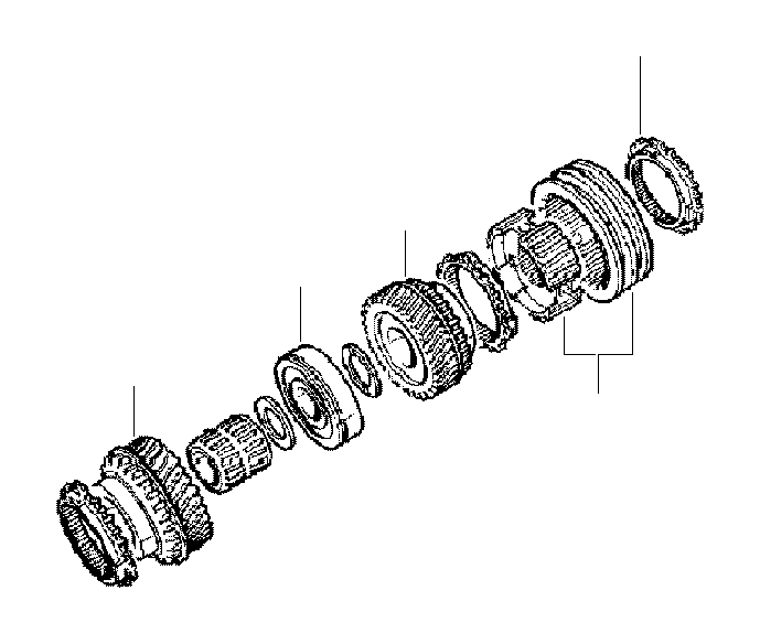 2005 mini cooper needle bearing  transmission
