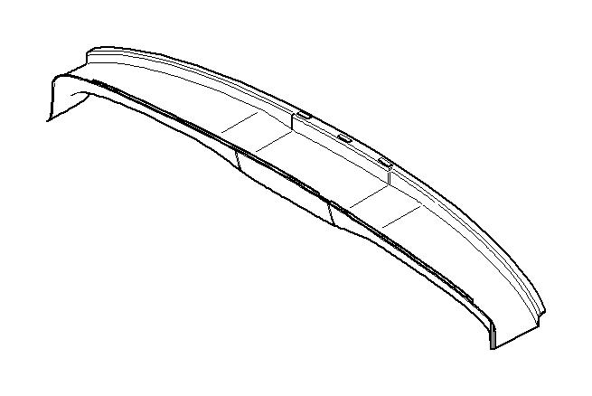 Mini Cooper S Convertible Trim  Tray  Rear